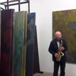 Bernd Wolf Vernisssage 23 November – music performance
